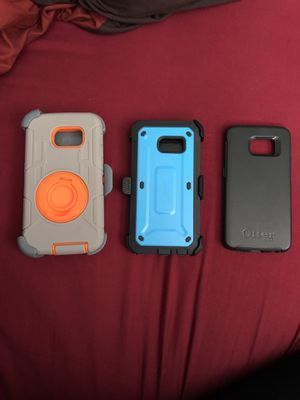 $8 for all 3 Brand New Samsung Galaxy S6 Edge Cases for Sale in Greenacres, FL