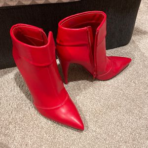 Red Booties - size 11 for Sale in Bethesda, MD