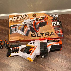 Nerf Ultra 1 Nerf Gun for Sale in Burlington, WA