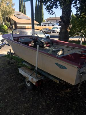 1962 silverline 14ft boat for Sale in Tracy, CA