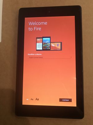 Amazon Fire Tablet Kindle for Sale in Houston, TX