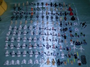 Star Wars Lego Minifigure Collection for Sale in Fort Worth, TX