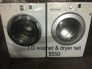 Lg washer dryer set / lavadora secadora for Sale in Miami, FL