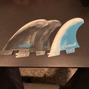 Gorilla Fins Thruster Set FCS ll Surfboard for Sale in San Diego, CA