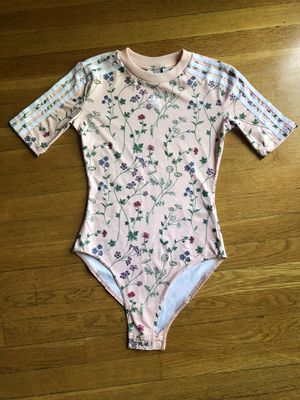 Adidas Pink Flower Bodysuit Sz Xs for Sale in Florissant, MO