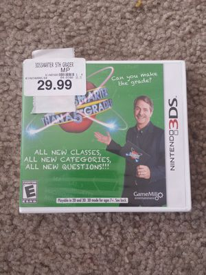 Are You Smarter Than a 5th Grader for Nintendo 3DS for Sale in Chula Vista, CA