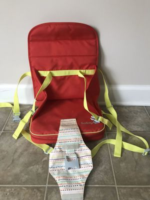 Portable Highchair/booster chair for Sale in Novi, MI