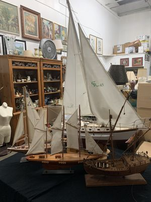 Collection of four model sailboats for Sale in Delray Beach, FL
