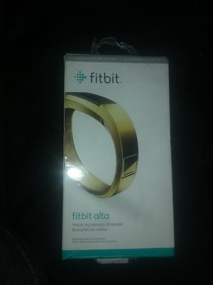 Fitbit alta metal accessory bracelet for Sale in Las Vegas, NV