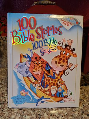 Children Bible Stories & Songs Book w/ CDs for Sale in Bakersfield, CA