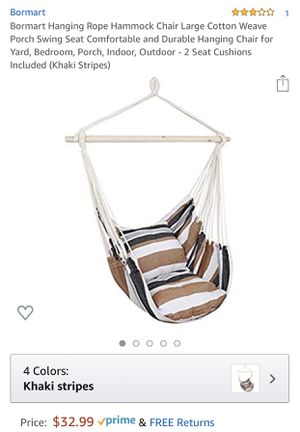 Hammock chair for Sale in Redlands, CA