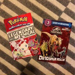 Pokémon And Jurassic World Books for Sale in Auburn,  WA