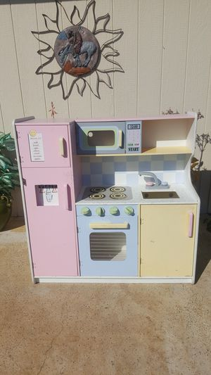 Wooden play kitchen for Sale in Peoria, AZ