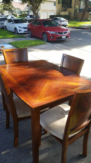 Wooden table and chairs for Sale in Anaheim, CA