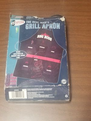 Bbq boss grill apron for Sale in Colorado Springs, CO