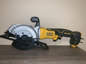 NEW 41/2 CIRCULAR SAW (TOOL ONLY) NO BATERIA NO CARGADOR for Sale in Dallas, TX