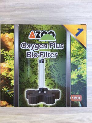 Azoo oxygen bio filter 120l fish aquarium for Sale in Scottsdale, AZ