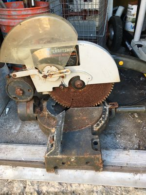 Craftsman table saw for Sale in Miami Beach, FL