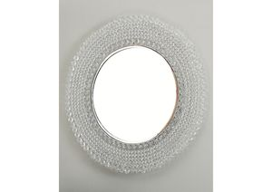 NEW, Marly Clear/Silver Accent Mirror, SKU# A8010116 for Sale in Westminster, CA