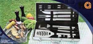 The Great Outdoors 23 piece Stainless Steel BBQ grill Tool Kit. GREAT HOLIDAY GIFT for Sale in Boca Raton, FL