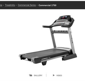 NordicTrack Treadmill - Commercial 1750 (Like New) for Sale in Miramar, FL