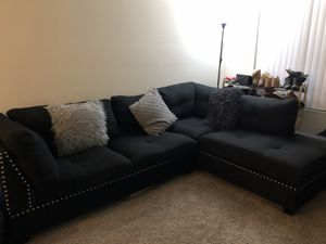 Black Couch for Sale in San Diego, CA