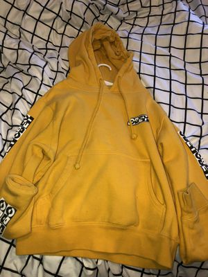 Obey (yellow) women's hoodie for Sale in Woodland, CA