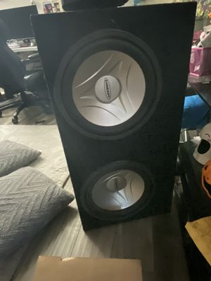 """Concept 12"""" Subs in Groundshaker Box for Sale in Los Angeles, CA"""