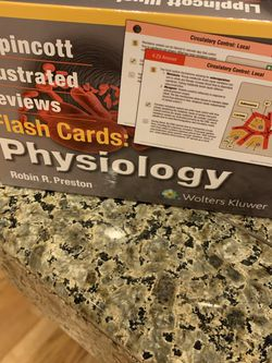 Lippincott Physiology Flash Cards for Sale in Oregon City,  OR