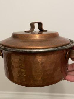 Vintage Copper Small Pot for Sale in Rockville,  MD