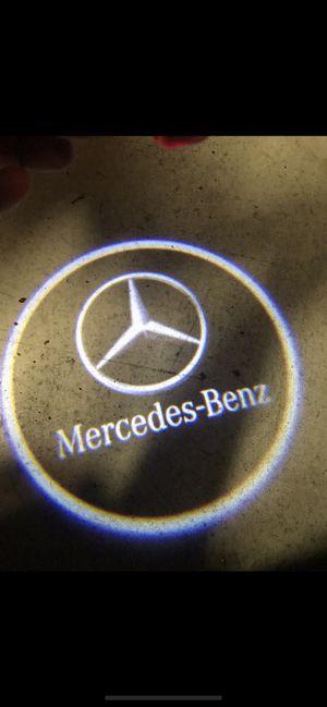 Mercedes benz car door projector lights shadow lights auto on/off aaa batteries for Sale in Paramount, CA