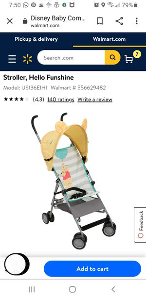Light weight stroller winne the pooh for Sale in Tampa, FL