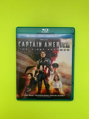 CAPTAIN AMERICA: THE FIRST AVENGER BLU RAY/DVD for Sale in Vacaville, CA