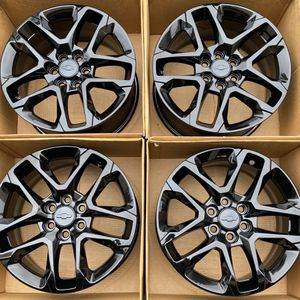 """18"""" Chevy Traverse factory wheels rims gloss black new 2020 for Sale in Santa Ana, CA"""