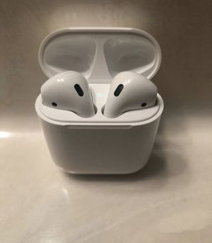 $100 - Apple AirPods (Cable Charge Model) - Opened For Photos for Sale in St. Louis, MO