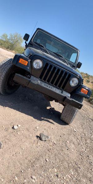Jeep Wrangler 01 for Sale in Chandler, AZ