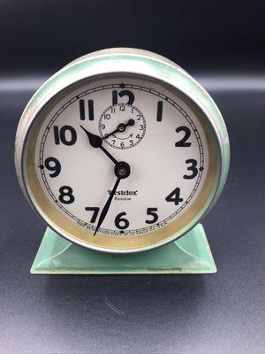 ANTIQUE WESTCLOX BANTAM CLOCK for Sale in Riverside, CA