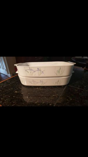 2 pieces dishes set corningware for Sale in Clifton, VA