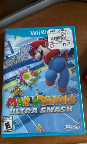 Mario Tennis Ultra Smash-Wii U for Sale in Mystic, CT