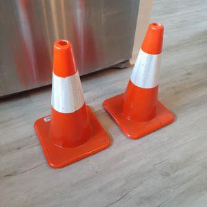 19in Traffic Cones (2) for Sale in Hampton, VA