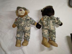 "Army 10"" Stuffed Teddy Bears for Sale in Salt Lake City, UT"