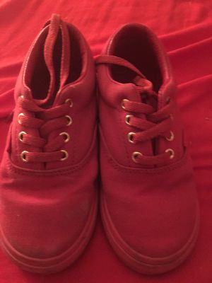 Red Toddler Vans for Sale in Dallas, TX