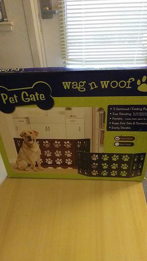 Pet Gate- wag n woof for Sale in San Jose, CA