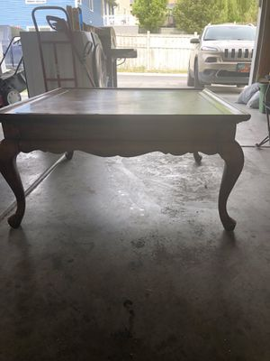 Wooden coffee table obo for Sale in Eagle Mountain, UT