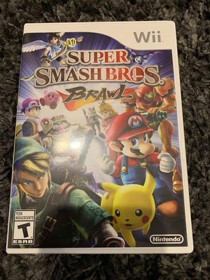 Super Smash Bros. Brawl for Nintendo Wii for Sale in Apex, NC