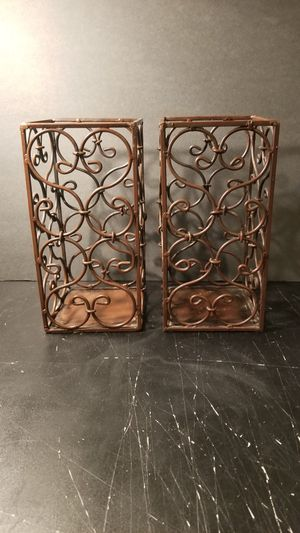Decorative Iron Candle Holders for Sale in Freehold, NJ