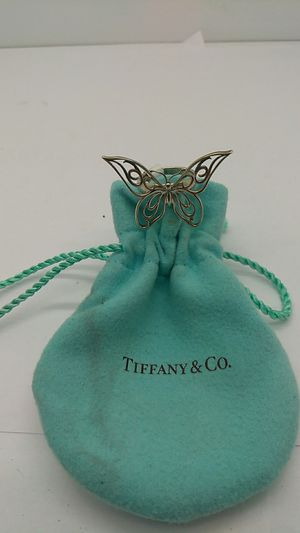 Tiffany & CO. Butterfly ring size 4 for Sale in Fort Lauderdale, FL