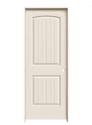 JELD-WEN 30 in. x 80 in. Santa Fe Primed Left-Hand Smooth Molded Composite MDF Single Prehung Interior Door for Sale in Industry, CA