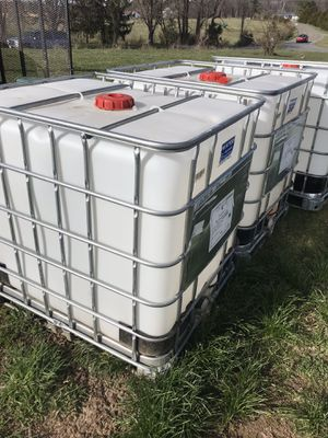 Large water totes for Sale in Waynesboro, VA