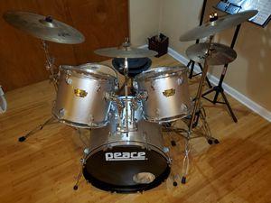 Peace Drum Set w/ Zildjian cymbals for Sale in Holland, PA